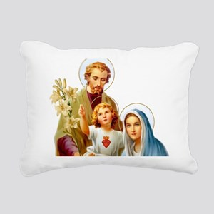 The Holy Family (Style 2 Rectangular Canvas Pillow