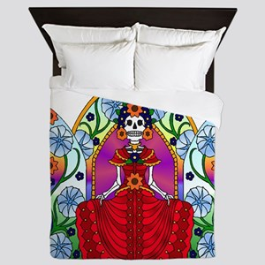 Best Seller Sugar Skull Queen Duvet