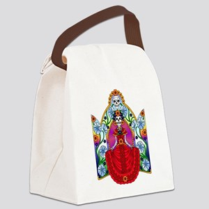 Best Seller Sugar Skull Canvas Lunch Bag