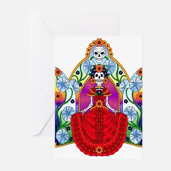 Best Seller Sugar Skull Greeting Cards