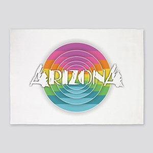 Arizona Rainbow 5'x7'Area Rug