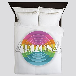 Arizona Rainbow Queen Duvet