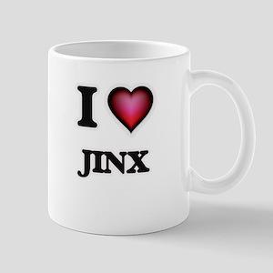 I Love Jinx Mugs