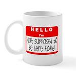 Hello I'm NSTBHT Mug
