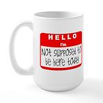 Hello I'm NSTBHT Large Mug