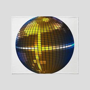 Disco Ball Throw Blanket