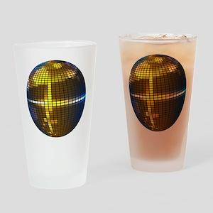 Disco Ball Drinking Glass