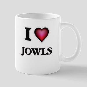I Love Jowls Mugs