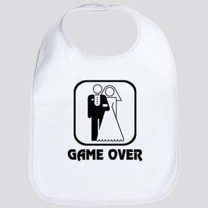 Wedding Symbol: Game Over Bib