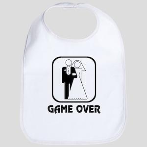 Wedding Symbol: Game Over Bib
