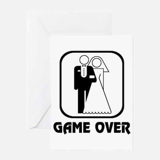 Wedding Symbol: Game Over Greeting Card