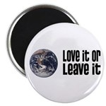 Love It or Leave It: Earth Magnet