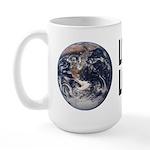 Love It or Leave It: Earth Large Mug