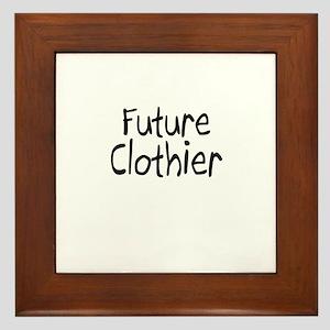 Future Clothier Framed Tile