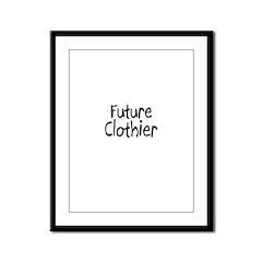 Future Clothier Framed Panel Print