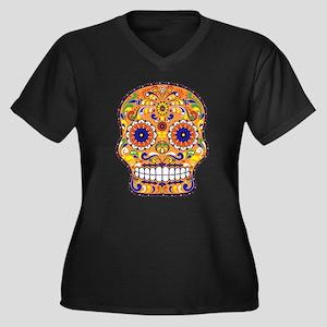 Best Seller Sugar Skull Plus Size T-Shirt