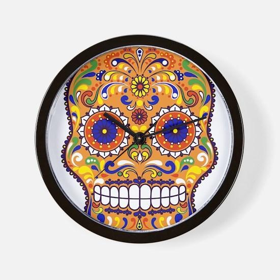 Best Seller Sugar Skull Wall Clock