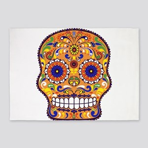 Best Seller Sugar Skull 5'x7'Area Rug