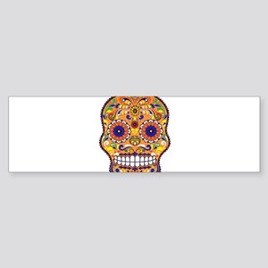 Best Seller Sugar Skull Bumper Sticker