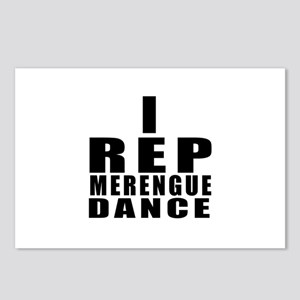 I Rep Merengue Dance Postcards (Package of 8)
