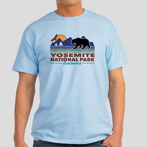 Yosemite National Park Light T-Shirt