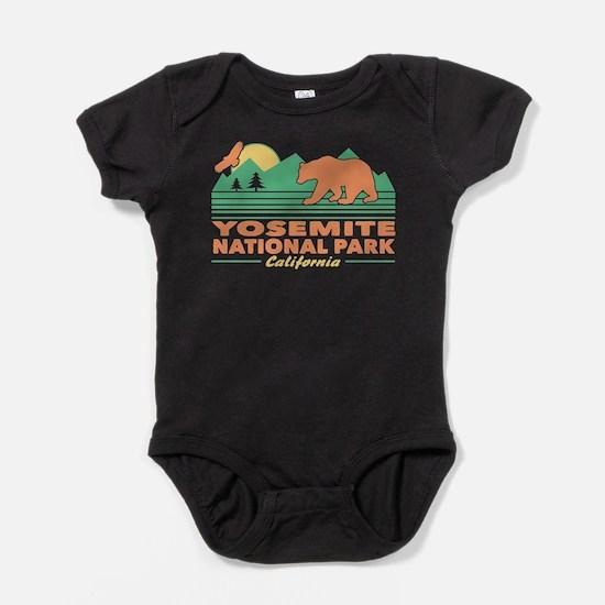 Yosemite National Park Baby Bodysuit