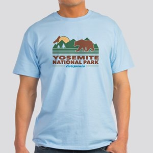 Yosemite National Park Light T-Shirt