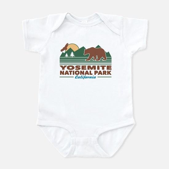 Yosemite National Park Infant Bodysuit