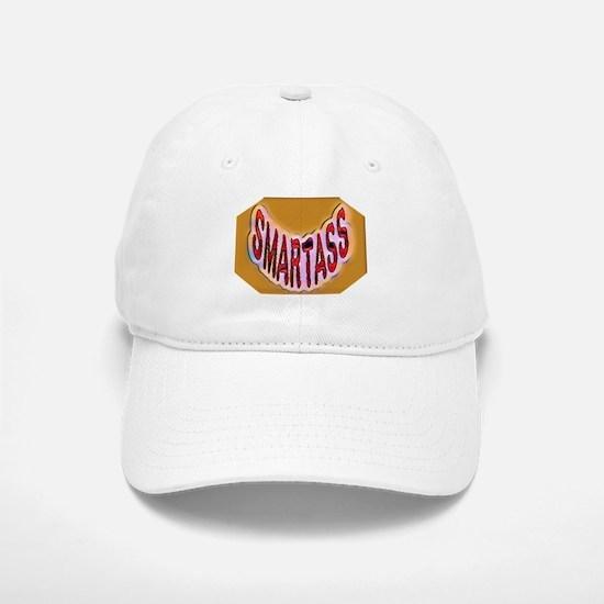 Smartass Baseball Baseball Cap