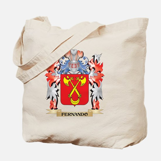 Fernando Coat of Arms - Family Crest Tote Bag