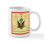 I'm A Bookworm Custom Name/text Mug Mugs