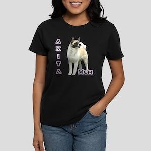 Akita Mom4 Women's Dark T-Shirt