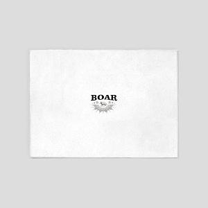 big boar 5'x7'Area Rug