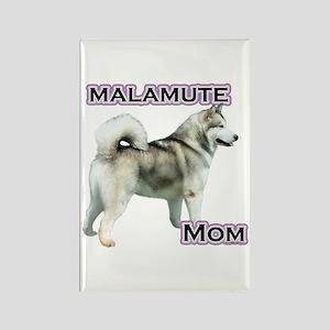 Malamute Mom4 Rectangle Magnet