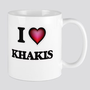 I Love Khakis Mugs