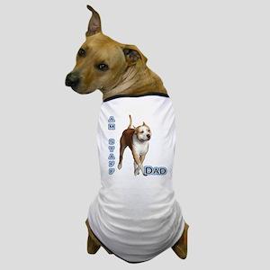 Staffy Dad4 Dog T-Shirt
