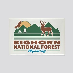 Bighorn National Forest Rectangle Magnet