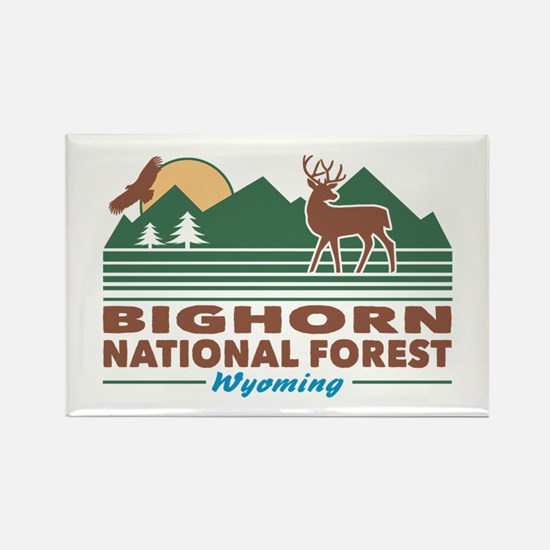 Bighorn National Forest Rectangle Magnet