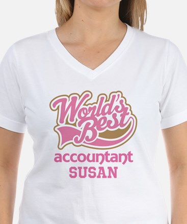 Accountant Personalized Gift T-Shirt
