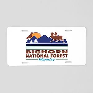 Bighorn National Forest Aluminum License Plate