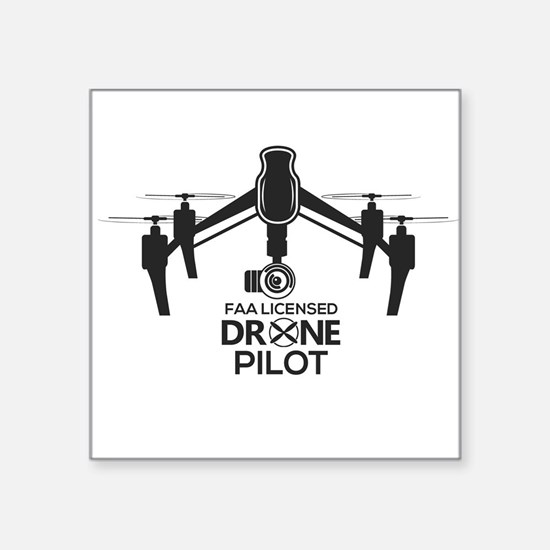 Faa Licensed Inspire Drone Pilot Sticker