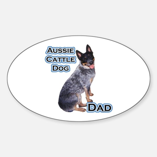 ACD Dad4 Oval Decal