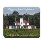 Raspberry Island Lighthouse Mousepad