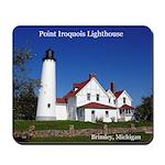 Point Iroquois Lighthouse Summer Mousepad