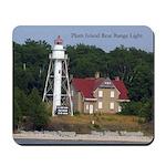 Plum Island Rear Range Light Mousepad