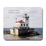 Oswego West Pierhead Light Mousepad