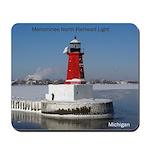 Menominee North Breakwater Light Mousepad