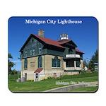 Michigan City Lighthouse Mousepad