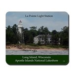 La Point Light Station Mousepad
