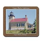 Copper Harbor Lighthouse Mousepad